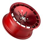 16X8 Klutch Rims KM16 4x1143 +15 Red Wheels Fits Prelude Accord Nissan 240sx