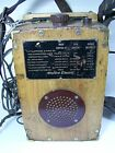 Very Nice Vintage Western Electric Phone Tester Finger Joint Wood Construction