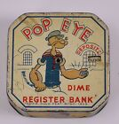 Vintage Popeye Dime Register Bank - Copr. King Feat. Synd. 1929