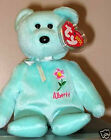 Ty Beanie Baby ~ ALBERTA WILD ROSE ~ Canada Flower ~ MINT with MINT TAGS