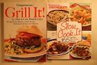 Weight Watchers Grill It  Slow Cook It 2 Books Very Good