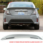 Fit For 11 16 Scion tC OE Trunk Spoiler Painted Classic Silver  1F7 ABS