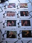 THE GLENN MILLER STORY original lobby card set ( 8) JAMES STEWART JUNE ALLYSON