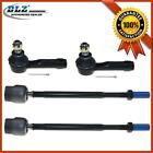 4 Pcs Suspension for 1989 1997 Geo Metro Tie Rod End Kit 1 Year Warranty