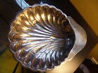 Son Ltd. Silver Clam Shell Sauce Dish English Coat of Arms
