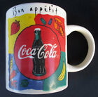 Coca Cola Bon Appetit Mug Foodie Coffee Cup Gibson Microwave Dishwater
