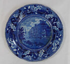 City Hotel New York HISTORICAL BLUE Staffordshire Plate