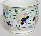 COALPORT PAGEANT PATTERN CACHEPOT BOWL BONE CHINA FLORAL FLOWERS