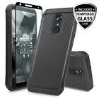 For LG G5 Hybrid Carbon Fiber Ultra Thin Slim Fit TPU Armor Hard Case Cover