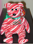 Ty Beanie Baby ~ 2007 HOLIDAY TEDDY the Red Bear ~ MINT with MINT TAGS~RETIRED
