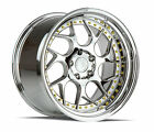 18x95 Aodhan DS01 5x1143 +30 Vaccum Rims Fits Tuburon Mazda 3 Eclipse Rx8