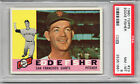 1960 Topps # 23 Eddie Fisher RC PSA 8 San Francisco Giants