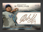 HYUN-JIN RYU 2013 BOWMAN STERLING RC AUTO GOLD INK #19 25 LOS ANGELES DODGERS