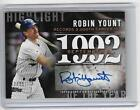 ROBIN YOUNT 2015 TOPPS HIGHLIGHT AUTOGRAPH AUTO #12 25