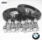 2 Pc BMW M3 SERIES HUB CENTRIC Wheel Spacers 15mm Black Anodized  5120 72 15B