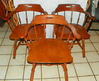 Set of 3 Ethan Allen Maple Armchairs / Chairs  (RP-AC24)