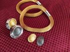 Vitnage Avon Bracelet And Earing Set, Enter changeable  Gold Or Silver Color