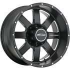 20x95 Black Pro Comp Series 83 5x55 6 Rims Terra Grappler G2 Tires