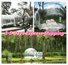4.0M Outdoor Single Tunnel Inflatable Bubble Tent Family Camping Star Night