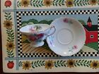 Ucagco Footed Tea Cup and Saucer Free Shipping!