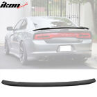 Fits 11-14 Dodge Charger SRT8 Hellcat Trunk Spoiler - Matte Black ABS