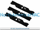 3x Outdoor Factory Parts 17 7 8 x 3 High Lift Lawn Mower Deck Blade  430277