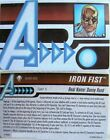 HeroClix Age of Ultron - Iron Fist ID Card AUID-002 - Wave 2