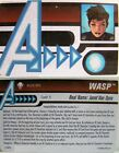 HeroClix Age of Ultron - Wasp ID Card AUID-005 - Wave 1