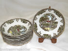 Johnson Brothers England Friendly Village 8 Fruit Sauce Bowls -The Stone Wall