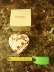 BDD) Pandora Heart Shaped Jewelry Box Fold Out Very Clean With Orig Box