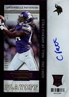 2013 Panini Contenders Rookie Ticket SP Variant Auto Cordarrelle Patterson 20 99