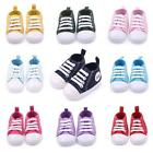 Cute Toddler Kids Canvas Sneakers Baby Boy Girl Soft Sole Crib Shoes 0 12Months