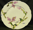 Antique Haviland Limoges France Pink Cactus Flower Floral 8.5