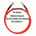 WELDING CABLE, BATTERY LEAD - 136AMP (25mm2) TRIRATED CABLE- 150mm To 8mtr (RED)