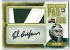 2011-12 BETWEEN THE PIPES PAD AND AUTO AUTOGRAPH #PA-EB ED BELFOUR 5 !!
