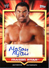 WWE Mason Ryan 2011 Topps Classic Authentic Autograph Card