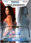 TNA Sarita 2012 Reflexxions GOLD Authentic Autograph Card SN 30 of 50