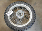 suzuki dr650 dr650se rear back wheel rim tire complete hub 03 04 05 06 08 09 07