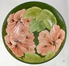 Beautifully Decorated Early Moorcroft Hibiscus Fruit Bowl/Large Serving Dish