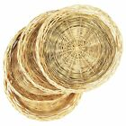 Fox Run 9 Inch Paper Plate Holders Set of 4 Bamboo Plate Holders