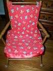 Vintage Childs Wood Rocker Rocking Chair Made By N. D. Cass Co. Alabama