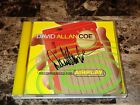 David Allan Coe Rare Hand Signed CD Recommended For Airplay Country Music Outlaw