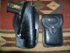 Colt Springfield Ruger RIA Remington 1911 Holster  Mag Pouch Wild Bunch Black
