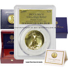 2009 $20 Ultra High Relief PCGS MS70 American Gold coin UHR Double Eagle w/OGP