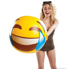 BigMouth Giant 20 EMOJI Smiley Face Tears of Joy Inflatable Beach Pool Ball
