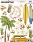 Creative Imaginations VINTAGE HAWAII Scrapbook Stickers