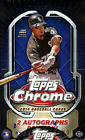 2014 TOPPS CHROME BASEBALL HOBBY BOX FACTORY SEALED NEW 2 AUTOGRAPHS PER BOX