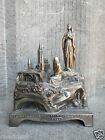 RARE ANTIQUE VINTAGE FRENCH LOURDES WORKING MUSIC BOX THE VIRGIN MARY