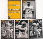 Lot Of 10 1993 Ted Williams Co. Memories '71 Pirates Sets - Roberto Clemente ++