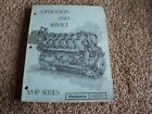 Waukesha Dresser VHP Deisel Engine Operation Service Shop Repair Manual